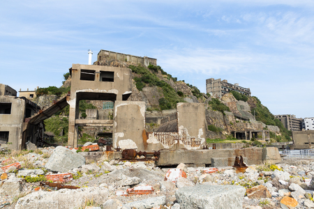 battleship: Abandoned Gunkanjima island