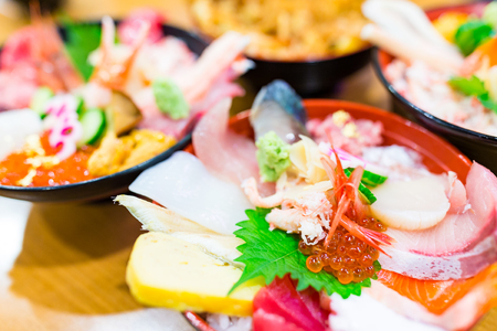 ova: Seafood sashimi