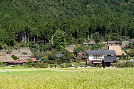 Miyama village in Kyoto 新聞圖片