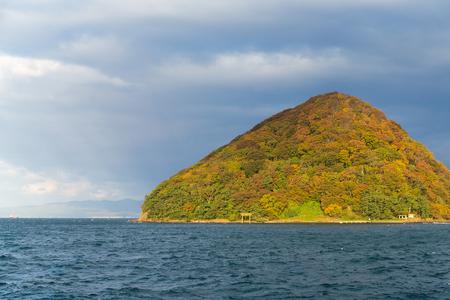 Yunoshima in autumn season