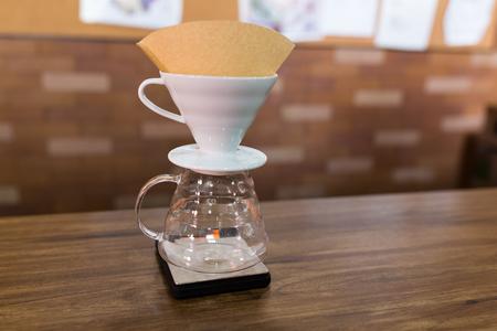 papel filtro: café de filtro Mano