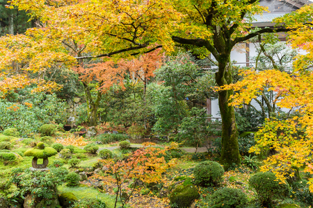 Japanese temple Stock Photo