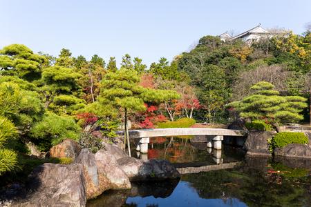 Kokoen Garden at Himeji castle Stock Photo - 75986823