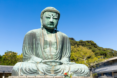 Great Buddha of Kotokuin Temple in Kamakura