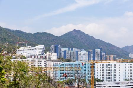 public housing: Hong Kong cityscape