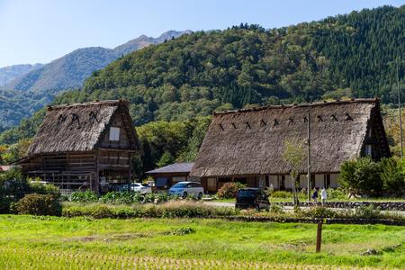 Japanese old town in Shirakawago