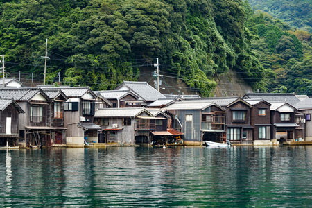 cocaine: Traditional Japanese Water House of Ine Cho