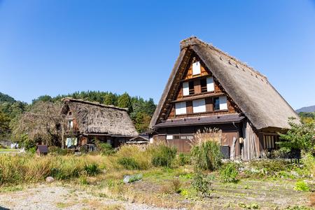 gokayama: Old house of Shirakawago in Japan