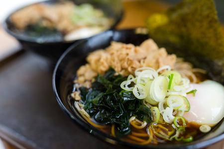 soba: Japanese soba Stock Photo
