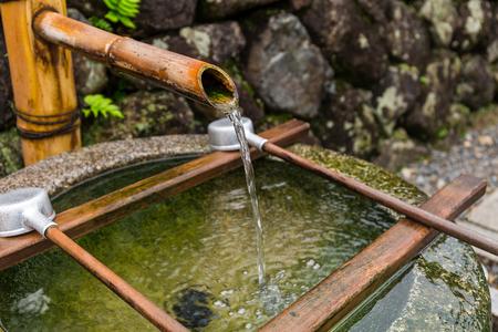 Washing pool at Japanese temple