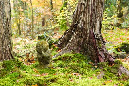 Garden of sanzenin in japan Stock Photo