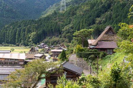 gokayama: Shirakawago village in Japan