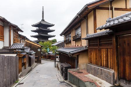 Cityscape of kyoto Stock Photo