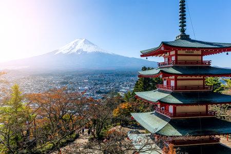 sengen: Chureito Pagoda and Mountain Fuji