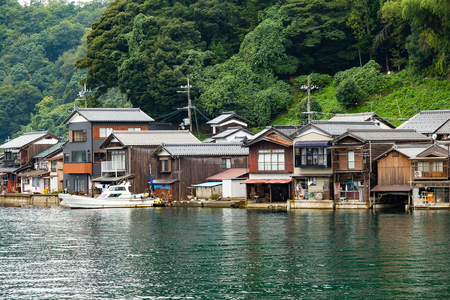 cocaine: Traditional old village, Ine cho in Kyoto