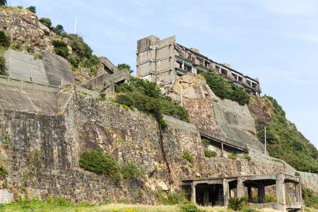 battleship: Hashima Island in Nagasaki