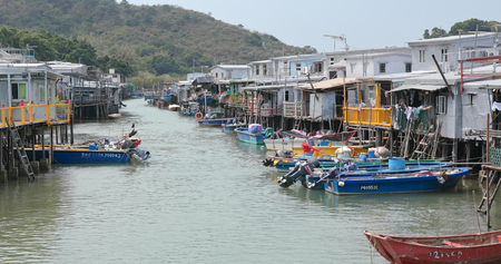 Tai O, Hong Kong, 03 May 2018:- Hong Kong Tai O village