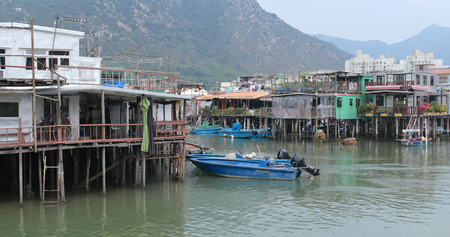Tai O, Hong Kong 03 May 2018:- Tai O fishing village