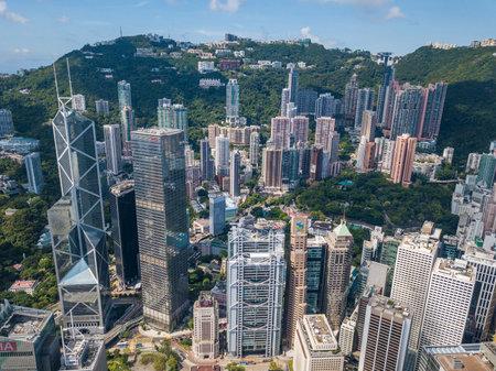 Central, Hong Kong 29 May 2018:- Hong Kong landmark