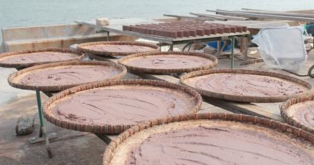 Shrimp paste in Tai o village