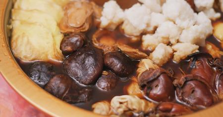 Hong Kong cuisine Poon Choi for lunar new year