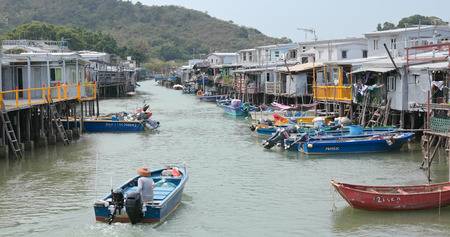 Tai O, Hong Kong, 03 May 2018:- Hong Kong Tai O fishing village