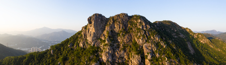 Lion rock mountain, panoramic shot