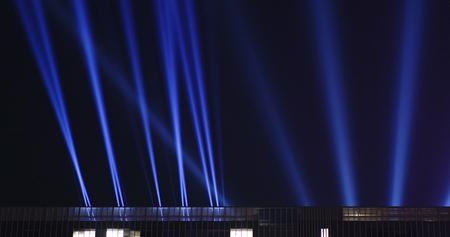 Music concert laser light Foto de archivo