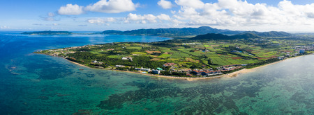 Top view of ishigaki island