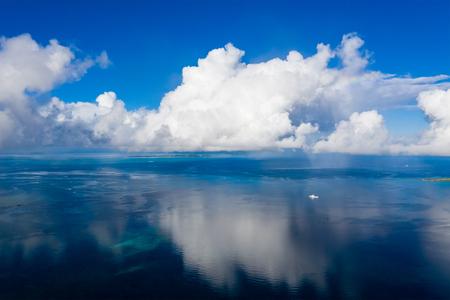 Beautiful Sky and sea in ishigaki island of Japan 写真素材