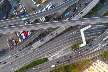 Hong Kong, 12 February 2019: Transportation system in Hong Kong