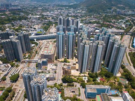 Hong Kong Tin Shui Wai city view