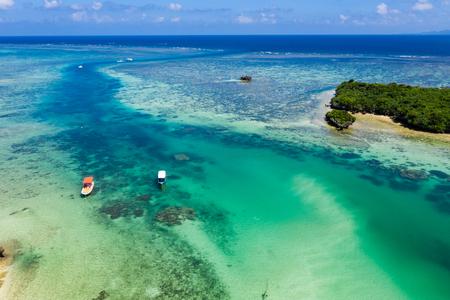 Top view of Ishigaki seascape