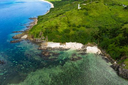 Beautiful Ishigaki island from top