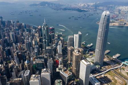 Central, Hong Kong - 01 November 2018 : Hong Kong business district