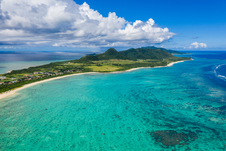 Tropical lagoon of Ishigaki island