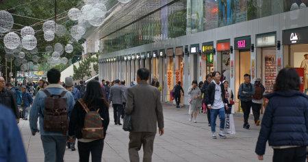 Tsim Sha Tsui, Hong Kong-12 December 2018: The Park Lane in Hong Kong