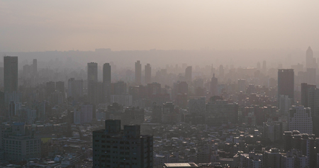 Air pollution of taipei city