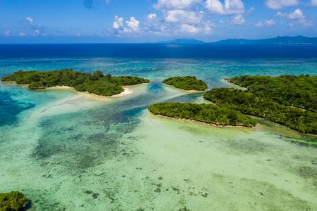 Kabira Bay in ishigaki island japan