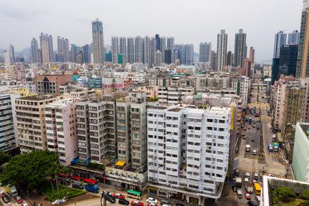 Sham Shui Po, Hong Kong 28 August 2018:- Hong Kong city