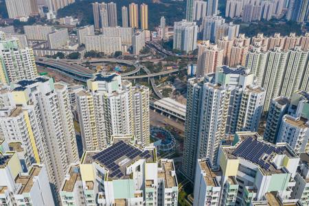 Hong Kong city landscape Stock Photo