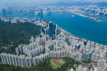 Hong Kong residential district Zdjęcie Seryjne
