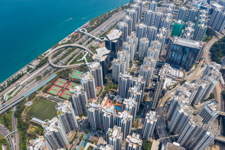 Tai Koo, Hong Kong 19 March 2019: Hong Kong city