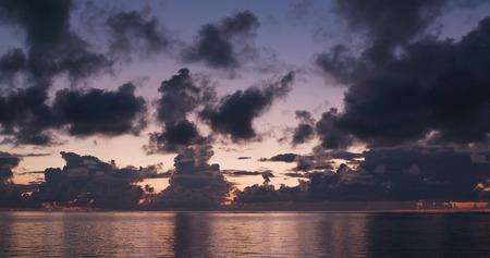 Sunrise and sea 写真素材