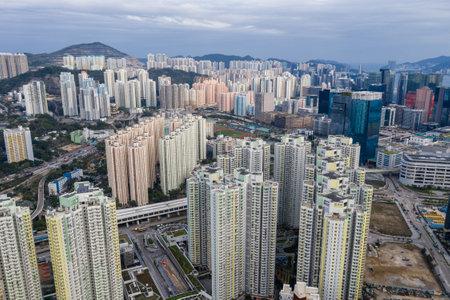 Kowloon Bay, Hong Kong 16 March 2019: Hong Kong city Editorial