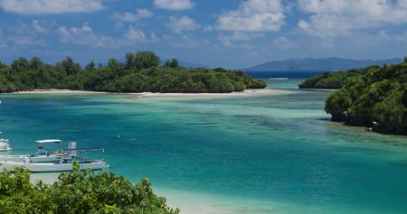 Kabira Bay in ishigaki island