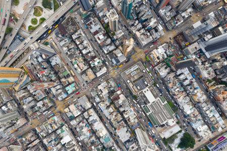 Kowloon city, Hong Kong 03 April 2019:  Hong Kong city Standard-Bild - 120755550