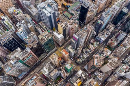 Mong Kok, Hong Kong 21 March 2019: Hong Kong city downtown