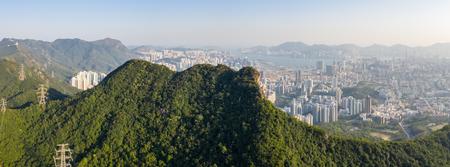 Lion rock mountain, panoramic shot