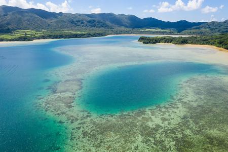 Kabira Bay in ishigaki island of Japan